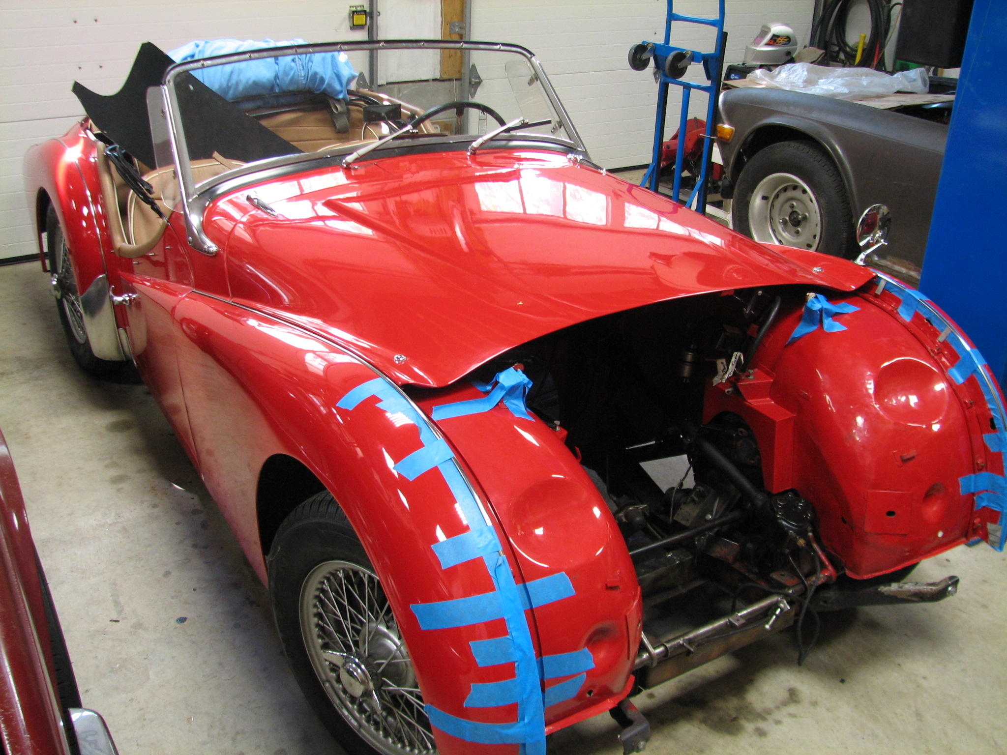 Triumph Tr3 To Go With The New Motor Uk Motorsports