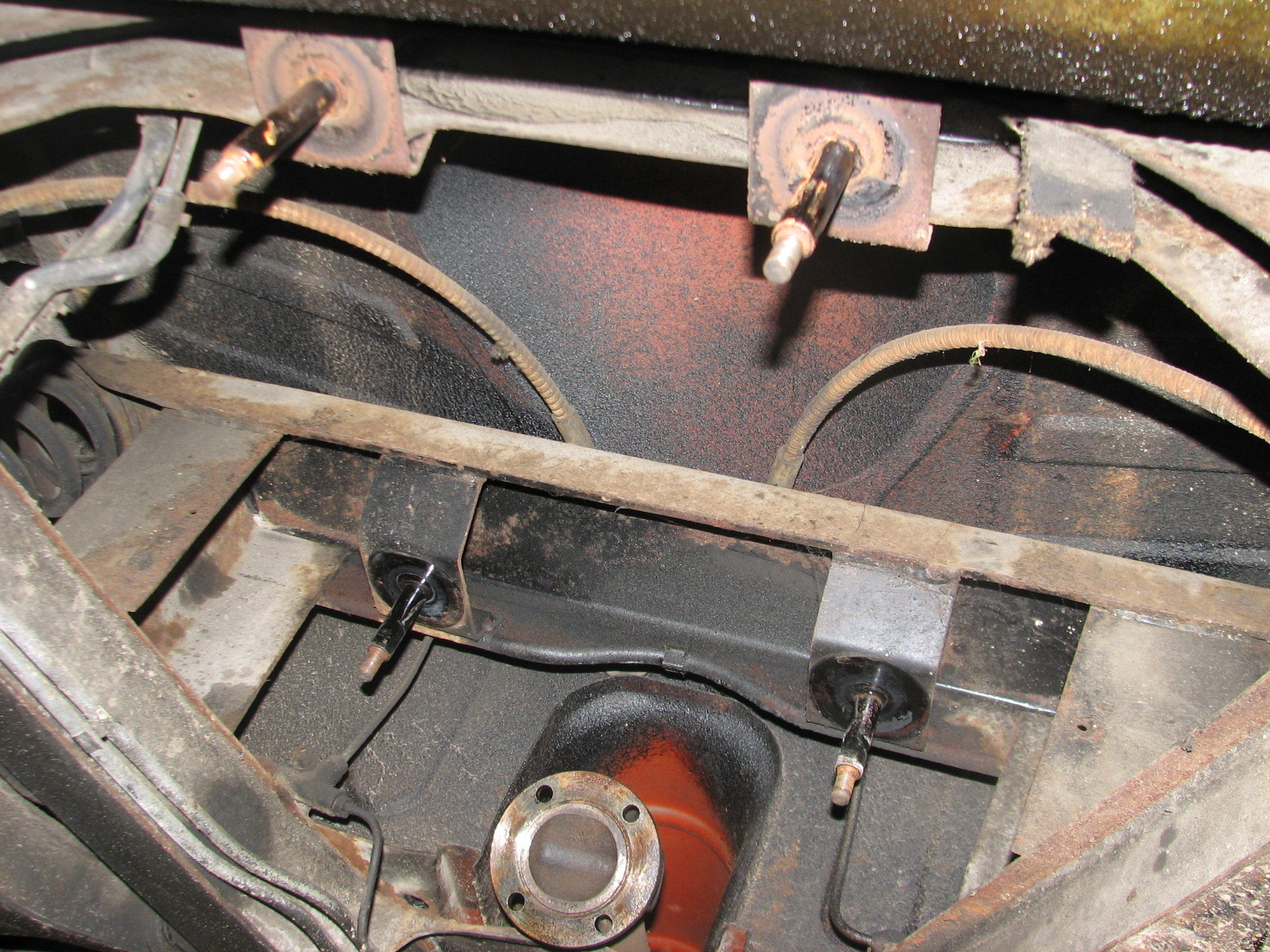 Green Triumph Tr6 Improvements Including A Picture Of