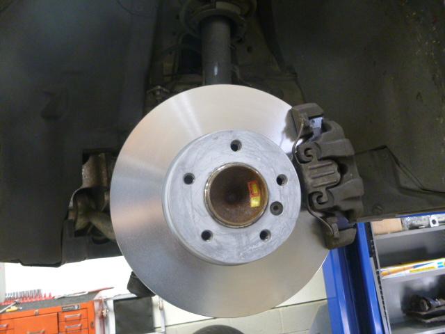 Not a Rover brake disk.