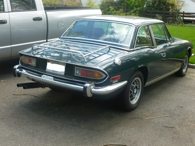 R200 Differential in Triumph Stag | UK Motorsports